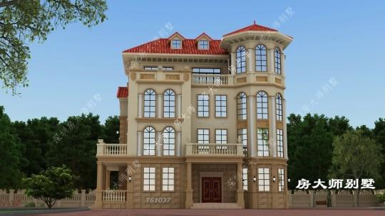 17x12四层欧式自建别墅