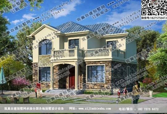 农村砖混结构17万元二层小楼图纸