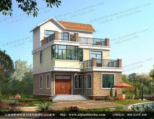 15万元左右农村经济型三层小别墅自建房设计图