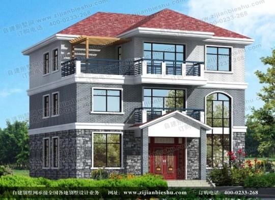农村大客厅户型设计 三层挑空复式房屋设计