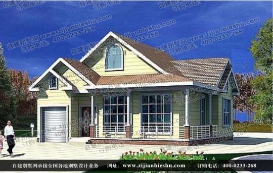 占地13X10一层半欧式小别墅,造价15W起,超级划算