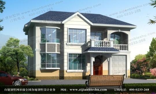 农村占地面积180平方米造价30万左右二层房屋设计图