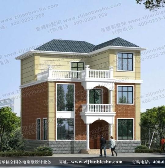 105平方米左右的三层小别墅设计图纸