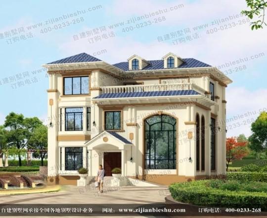 总面积近500平方米的漂亮三层别墅设计图