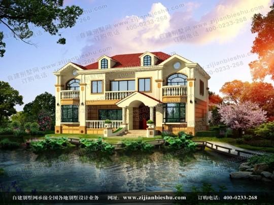 适合兄弟合建的精致二层私人住宅设计