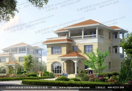 三层新农村小别墅全套设计图纸 农村房屋设计图