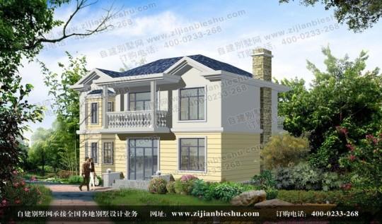 私家别墅自建房二层农村经典住宅设计图纸
