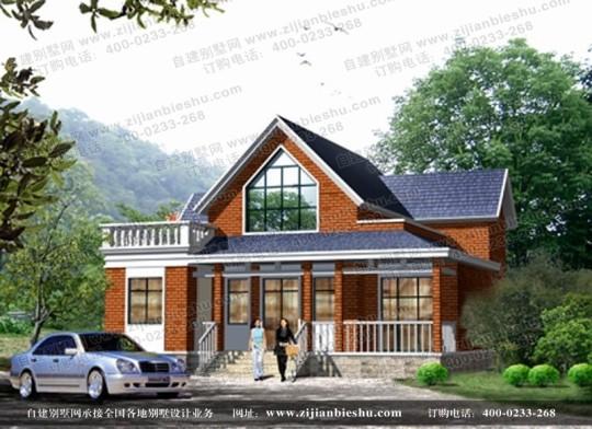 二层漂亮小别墅带露台全套设计图纸