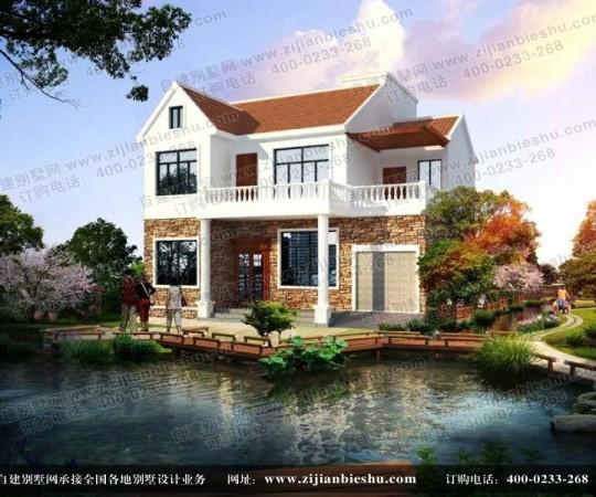 占地11×10米二层别墅设计,大气欧式范儿,造价20万人人建的起!