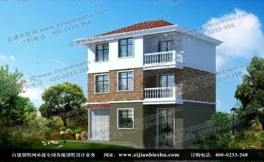 乡村三层简洁自建房屋全套设计图