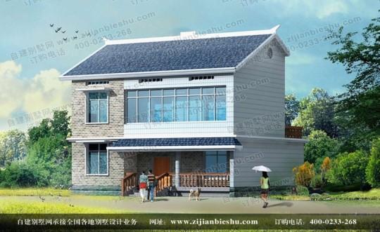 简单大方新农村二层别墅全套设计图纸