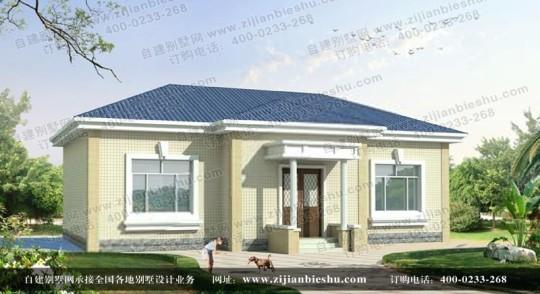新农村一层简单自建别墅全套设计图纸