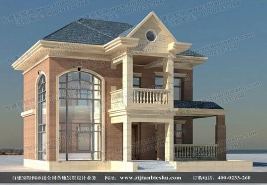 简欧式二层别墅住宅全套设计图纸
