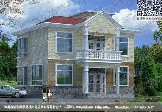 两层漂亮的农村小别墅全套设计图纸