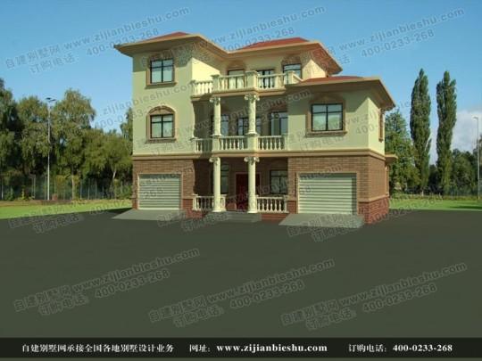 三层美观实用独栋别墅全套设计图纸