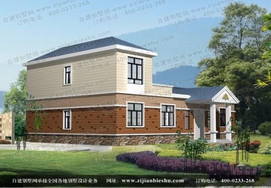 两层自建房屋带大露台全套设计图纸