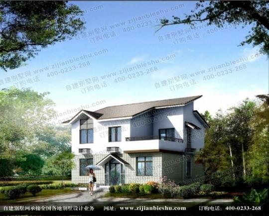 简约新农村砖混结构二层别墅全套设计图纸