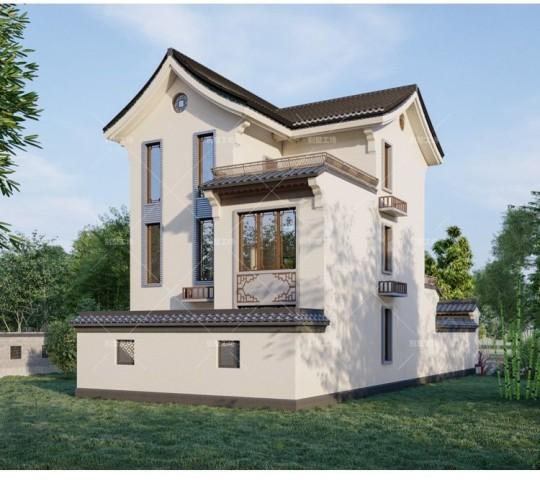 新中式小院墅设计