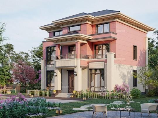 130品三层小别墅设计