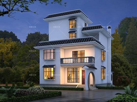 古韵新中式三层美宅