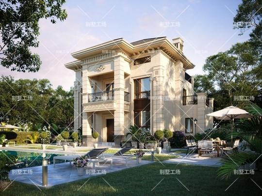 两层别墅带阁楼自建房设计