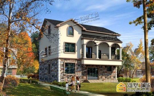 新款三层农村自建别墅设计图纸