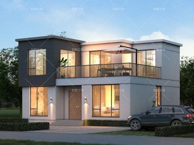 两层现代乡墅设计图