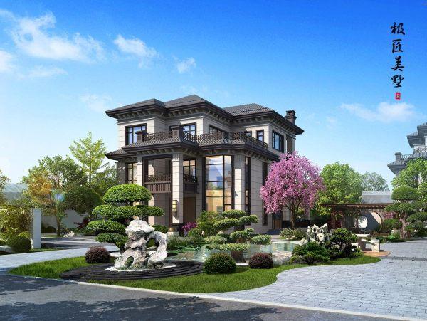 中式风格-C1 乡村别墅-全套建房图纸