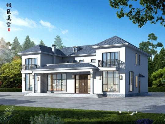 中式风格-C3 -全套别墅设计图纸