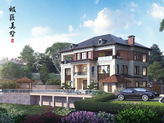 中式风格-S2 pro-全套别墅设计图纸