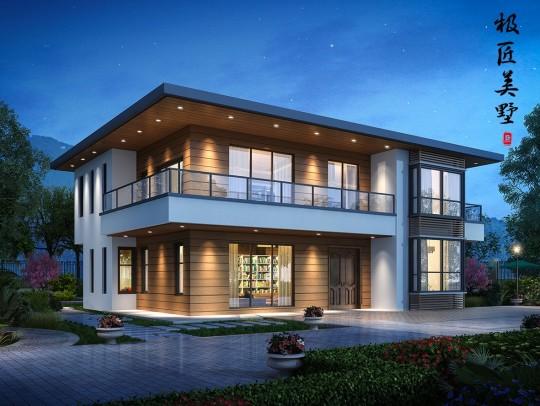现代风格-A2 - 全套别墅设计图纸