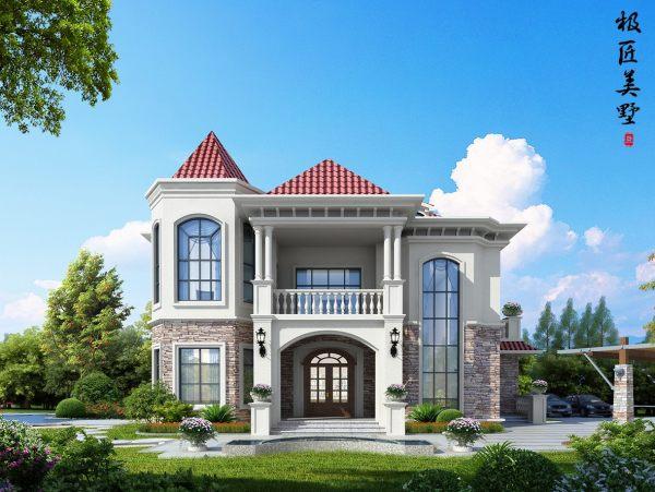 欧式风格-C2- 全套别墅设计图纸