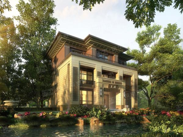 新亚洲风情院墅系列·尊享款X3-全套设计图纸