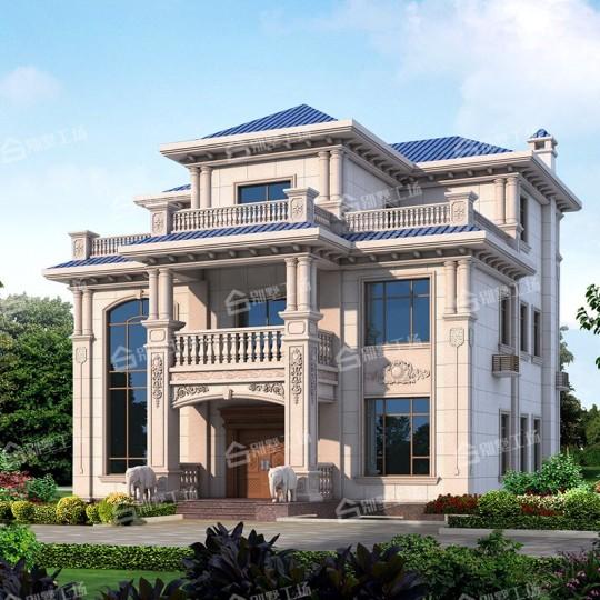 三层欧式别墅,大气典雅