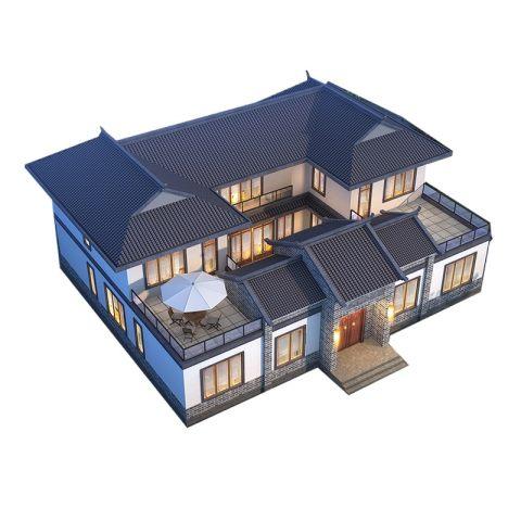 新中式-古风典雅之墅设计图纸