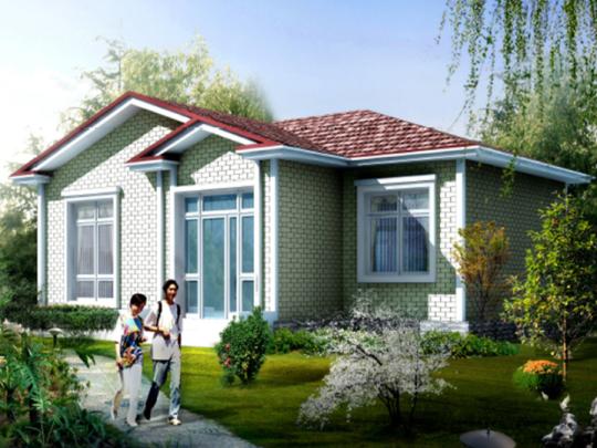 一层现代简约农村自建房别墅全套设计施工图