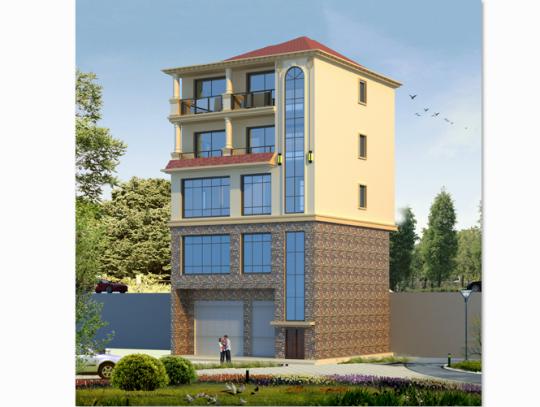11x11五层欧式别墅设计