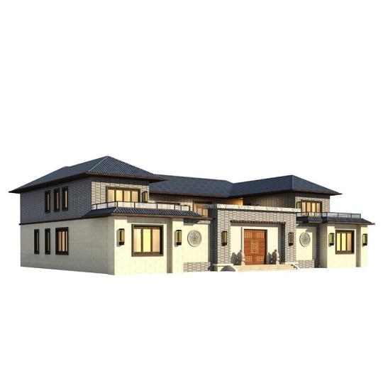 新农村自建房别墅设计图纸全套二层乡村房子房屋施工图定制YK2196