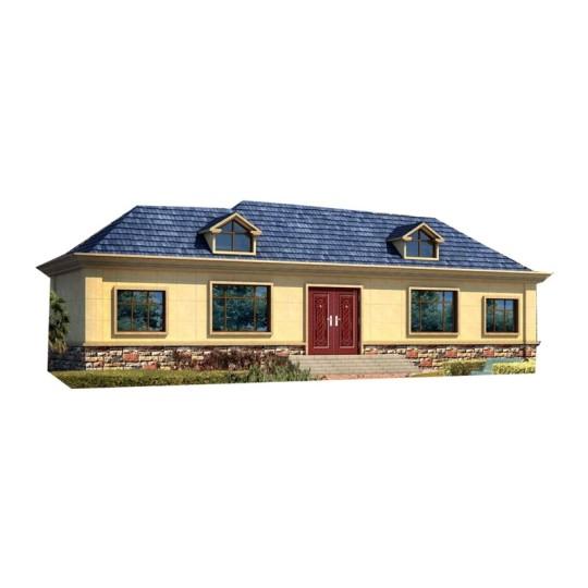 YS104占地20X6一层简欧风格农村自建别墅
