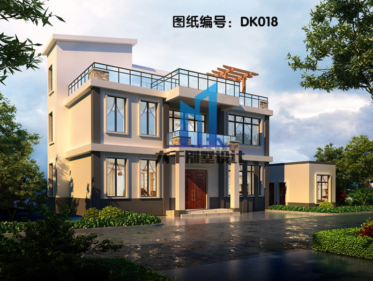 简约而不简单的 两层现代风格别墅