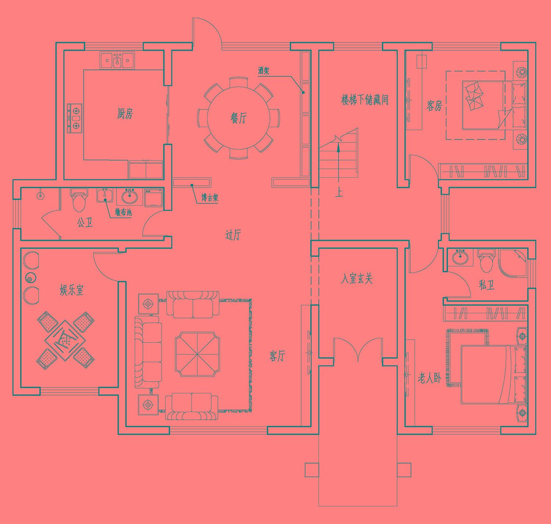 6室2厅云南曲靖欧式别墅