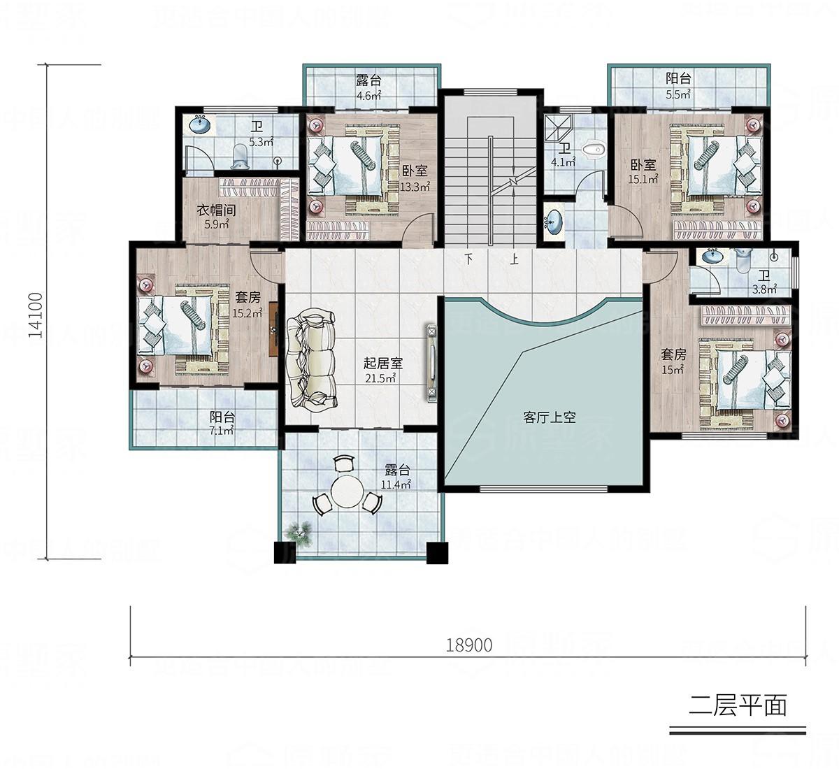J1 - 欧式浪漫3层别墅