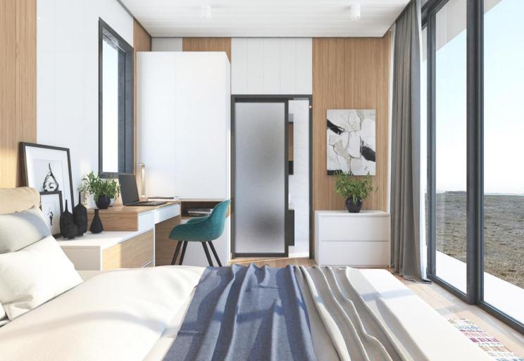 喇叭盒子(住宅)—铝合金模块组合房屋