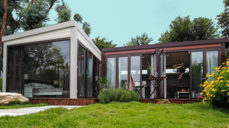 移动L型48—铝合金模块组合房屋