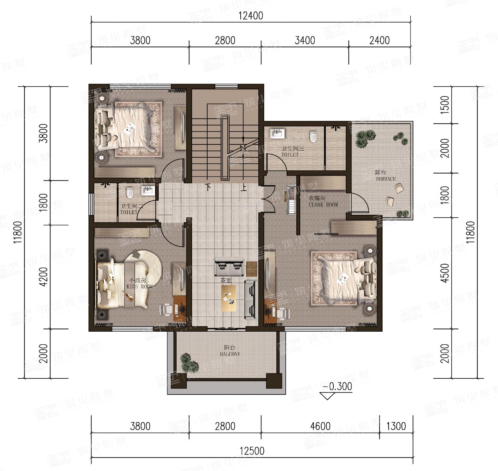 莱茵经典院墅系列·舒适款A1Pro
