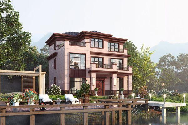 新中式三層別墅豪宅Y4獨棟別墅