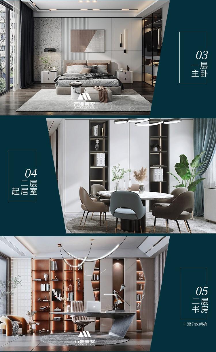 万洲-现代简约风格别墅-WZ-216【主体造价】