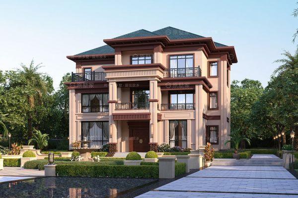 J2-新中式三层复式别墅