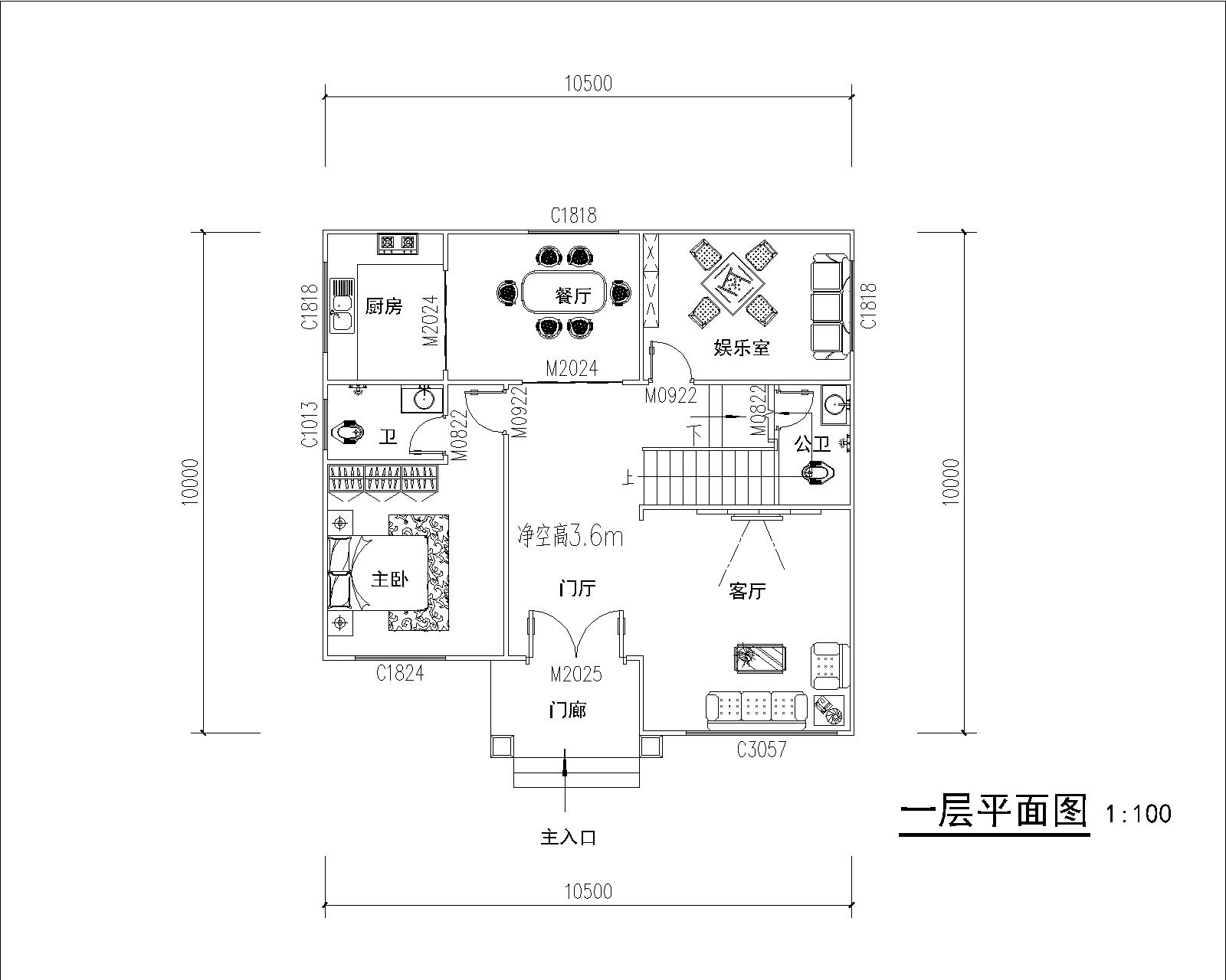 两层  【2021新款】(外精内简)   (空心墙体)