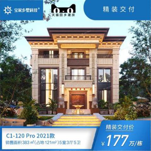 【咨询领建房资料】社交体面型C12021款标准版 高品质乡村別墅建造